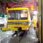 Por la crisis del material rodante, vuelven los CAF 5000 a la línea B