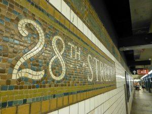 Estación 28th Street de la línea IRT Lexington Avenue (1906).