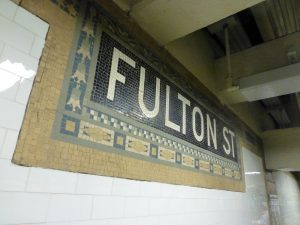 Estación Fulton Street de la línea IRT Lexington Avenue (1905).