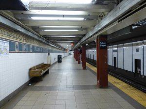 Estación Fulton Street de la línea BMT Nassau Street (1931).