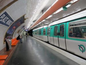 Estación Place Monge de la línea 7 (1930).