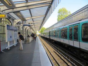 Estación La Chapelle de la línea 2 (1903).