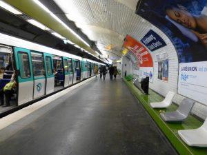 Estación Strasbourg-Saint Denis de la línea 8 (1931).