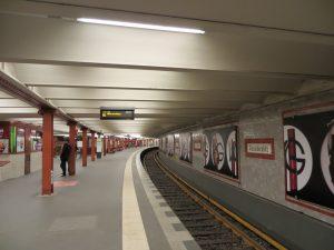 Estación Alexanderplatz de la U2 (1913).