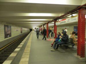 Estación Stadtmitte de la U2 (1908).