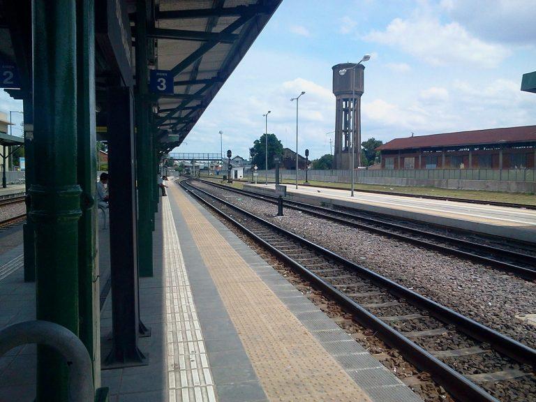Andenes de la estación Buenos Aires, recientemente renovada.