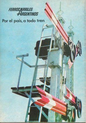 El logo de FA y uno de los lemas más recordados, en un afiche de principios de los 70.