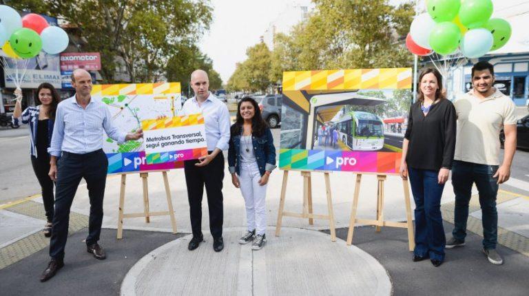 "Larreta presenta el ""Metrobús transversal"""