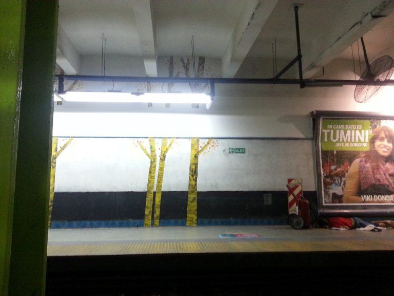 """Los árboles """"talados"""" en Dorrego"""