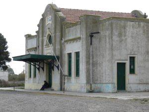 Abandono en la estación de Patagones. Fotografía de Carlos Espinosa