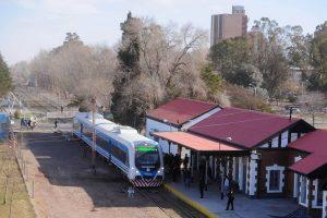 La estación de Cipoletti fue remozada para la puesta en marcha del nuevo servicio.