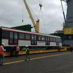 CAF entrega nuevos coches para el Metro de Santiago