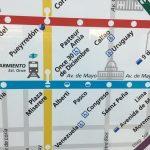 Advierten errores en mapas y planos del Subte
