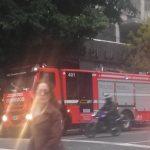 Evacuación por principio de incendio en la línea B