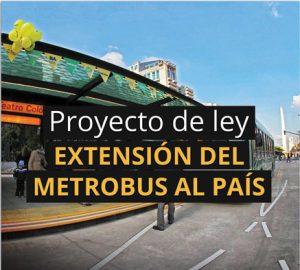 """En la campaña de 2013, el PRO había prometido la """"extensión del Metrobús al país"""" (sic)."""