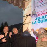 El gobierno de Jujuy afirma que rehabilitará las vías entre Jujuy y La Quiaca