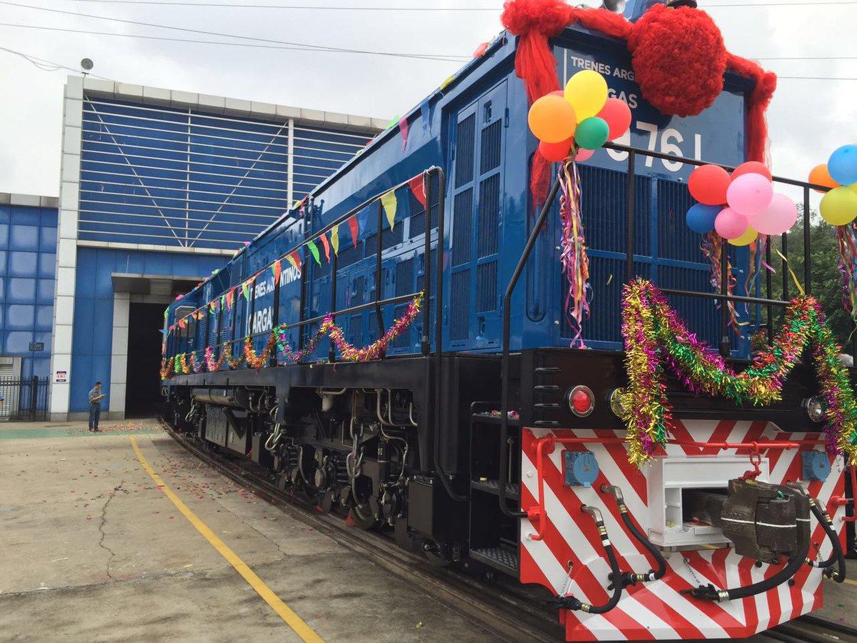 Resultado de imagen para 20 locomotoras para el Belgrano cARGAS