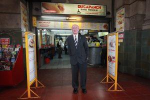 El fundador de Discapanch, Saúl Macyszyn. Le aumentaron el alquiler más de un 800%.