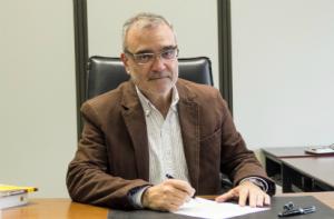 """Edgardo Campelo, presidente de SBASE, abocado a """"normalizar"""" la empresa."""