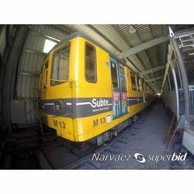 Siemens M13 en Mariano Acosta (foto: Narváez Superbid)