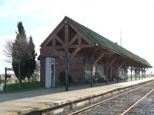 """Divisadero de Pinamar no recibe trenes desde abril de 2011 por """"falta de material rodante""""."""