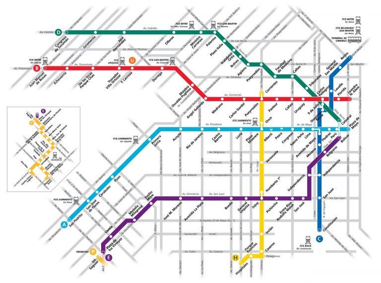 La red en 2015: con 18 estaciones más lleva menos pasajeros que en 1998.