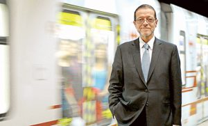 Rodrigo Azócar, presidente del Metro de Santiago.