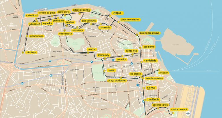 mapa VLT Rio