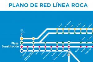 La nueva denominación de la estación Avellaneda desorienta tanto como sobresale en los planos de la red.