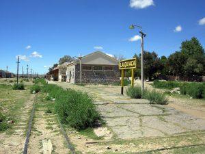 La estación La Quiaca, sin trenes desde hace más de 20 años.
