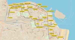 Plano de red del nuevo tranvía de Río.
