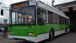 Uno de los nuevos trolebuses para Córdoba, fabricados por Trolza.