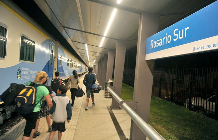 Pese a la extensión a Rosario Norte, la estación Rosario Sur continúa siendo utilizada por el público en proporción similar a la primera.