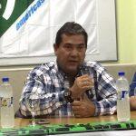 Julio Sosa, dirigente de La Fraternidad, reclamó por la restauración del servicio.