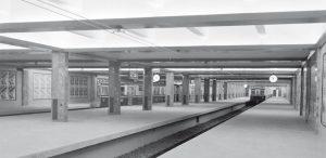 Aspecto original de la estación Retiro.