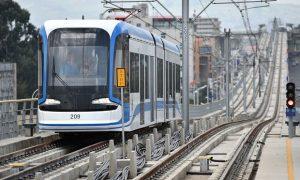 El flamante tranvía de Addis Abeba, capital de Etopía.