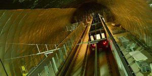 Pruebas de tracción en la línea 6 del Metro de Santiago.