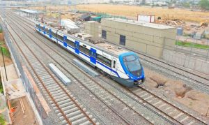 Formación Alstom Civia del servicio Rancagua Express.