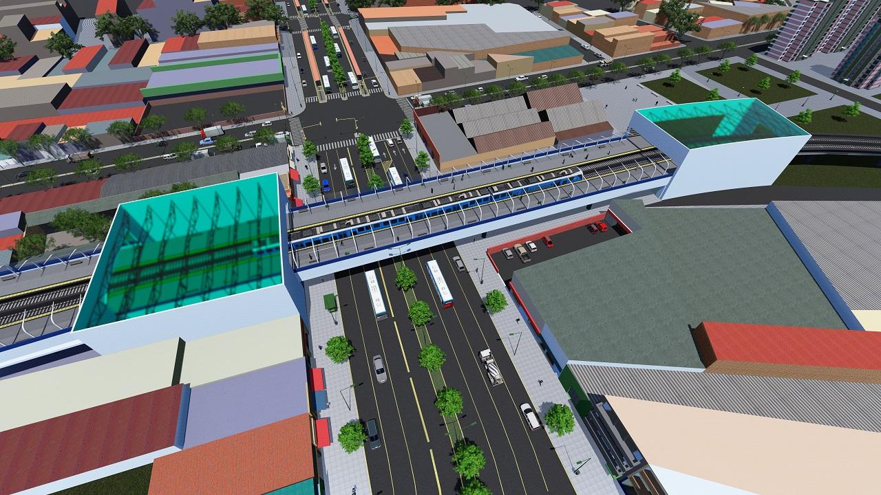Resultado de imagen para Viaducto Belgrano Sur: avanza la futura estación elevada Sáenz