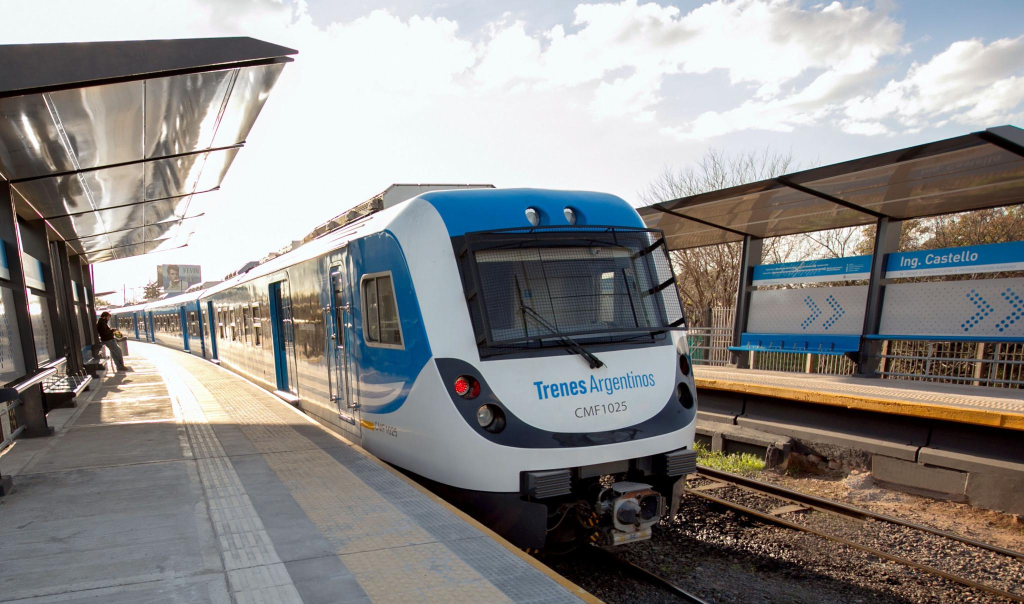 Resultado de imagen para La CAF oficializó un préstamo para renovar integralmente un ramal del Belgrano Sur