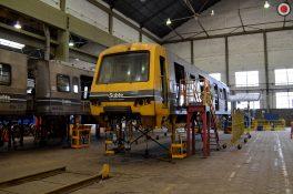 Conocé cómo se trabaja en la reforma de los trenes Alstom de la línea D
