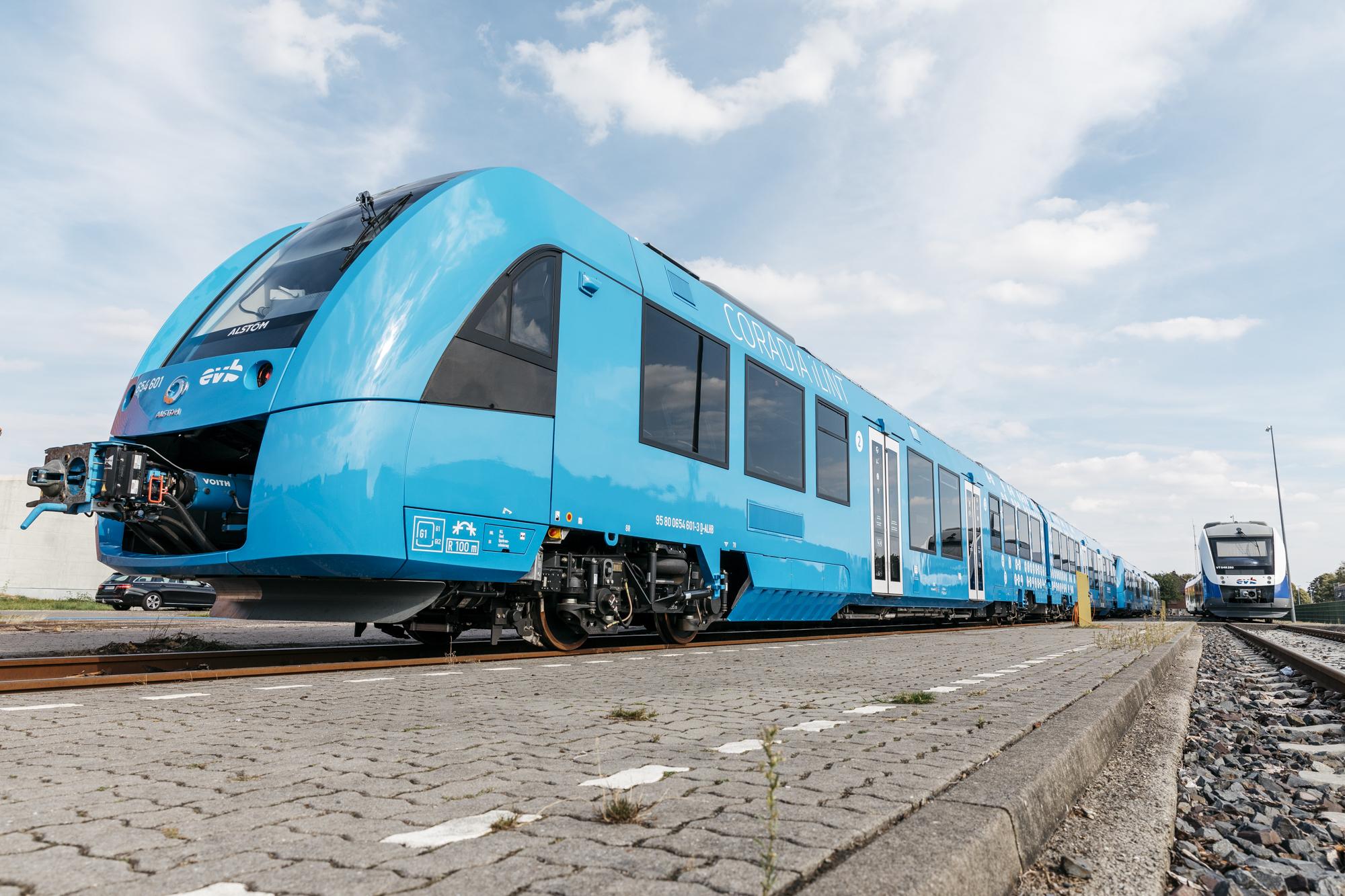 Así es el primer tren que funciona con hidrógeno en el mundo
