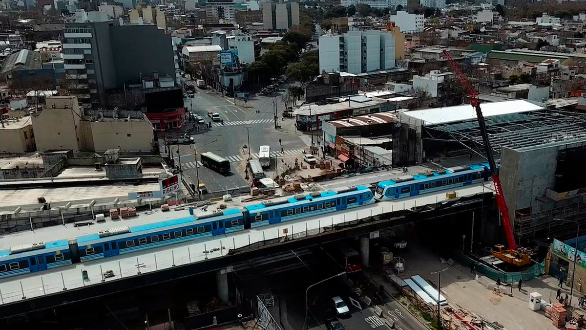 Resultado de imagen para 15 empresas compiten para construir el viaducto del Belgrano Sur a Constitución